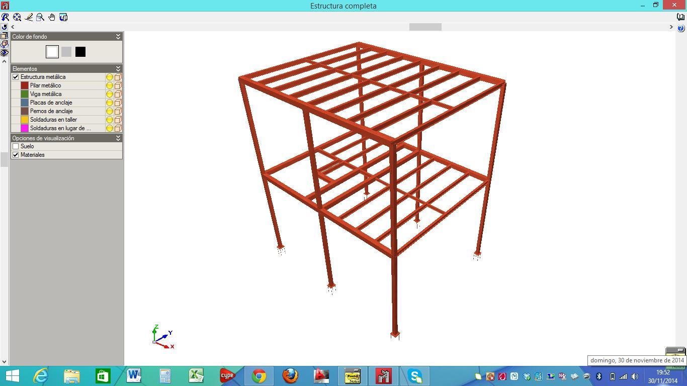 Estructuras met licas estructuras 2 easycte for Programa para dibujar en 3d