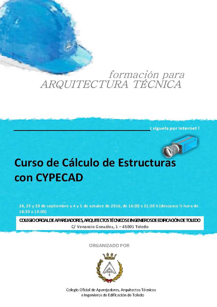CURSO CYPECAD COAATIE TOLEDO