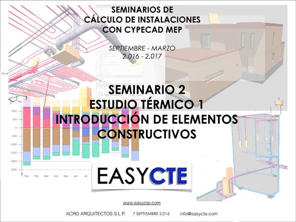 SEMINARIO 2 INTRODUCCIÓN DE ELEMENTOS CONSTRUCTIVOS