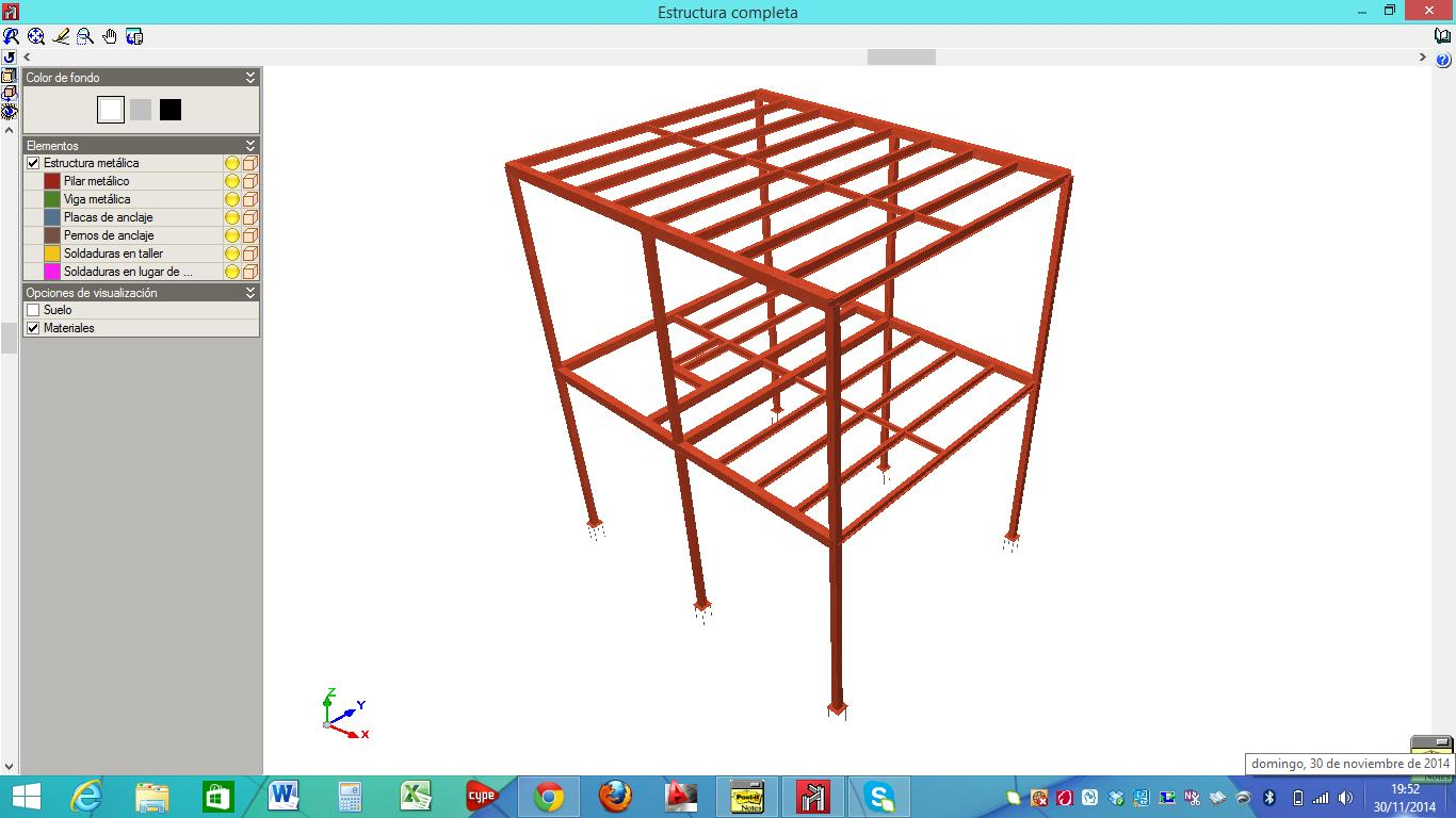 calculo de estructuras metalicas
