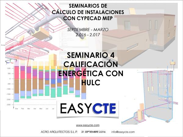 CALIFICACIÓN ENERGÉTICA CON HULC