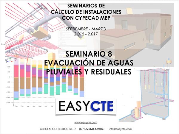 EVACUACIÓN DE AGUAS RESIDUALES Y PLUVIALES